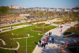 madrid rio parque para el adiestramiento